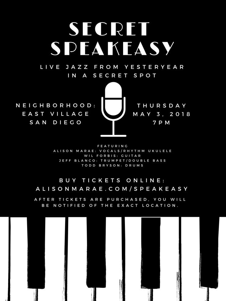 Alison Marae and the Secret Speakeasy