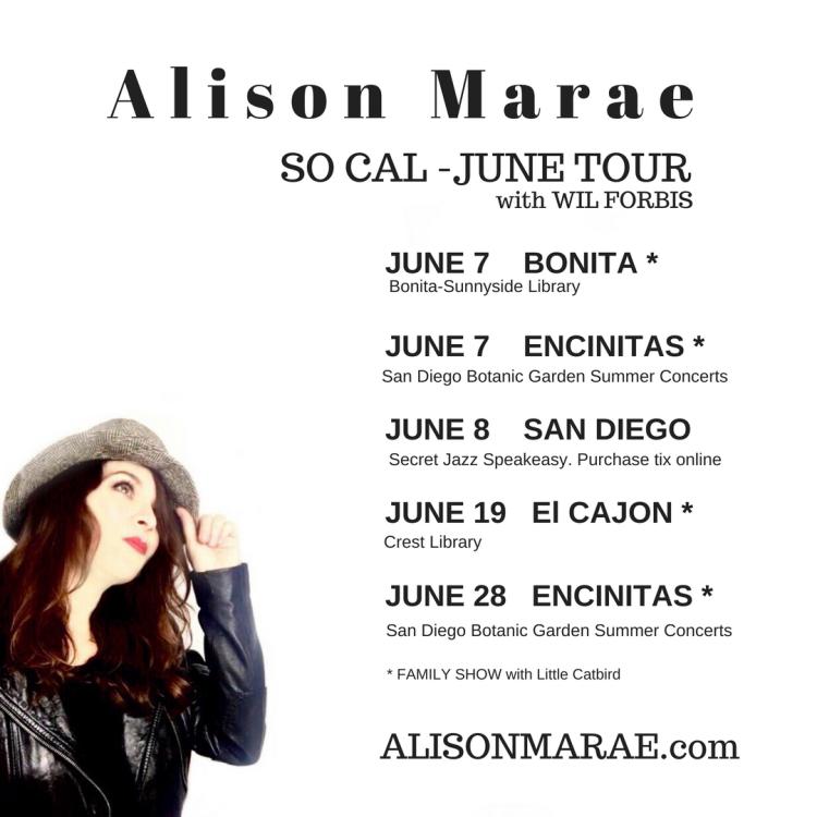 June tour