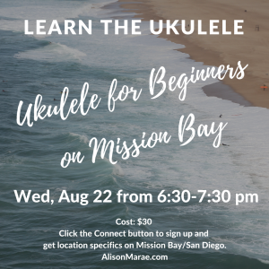 Ukulele Workshop on Mission Bay